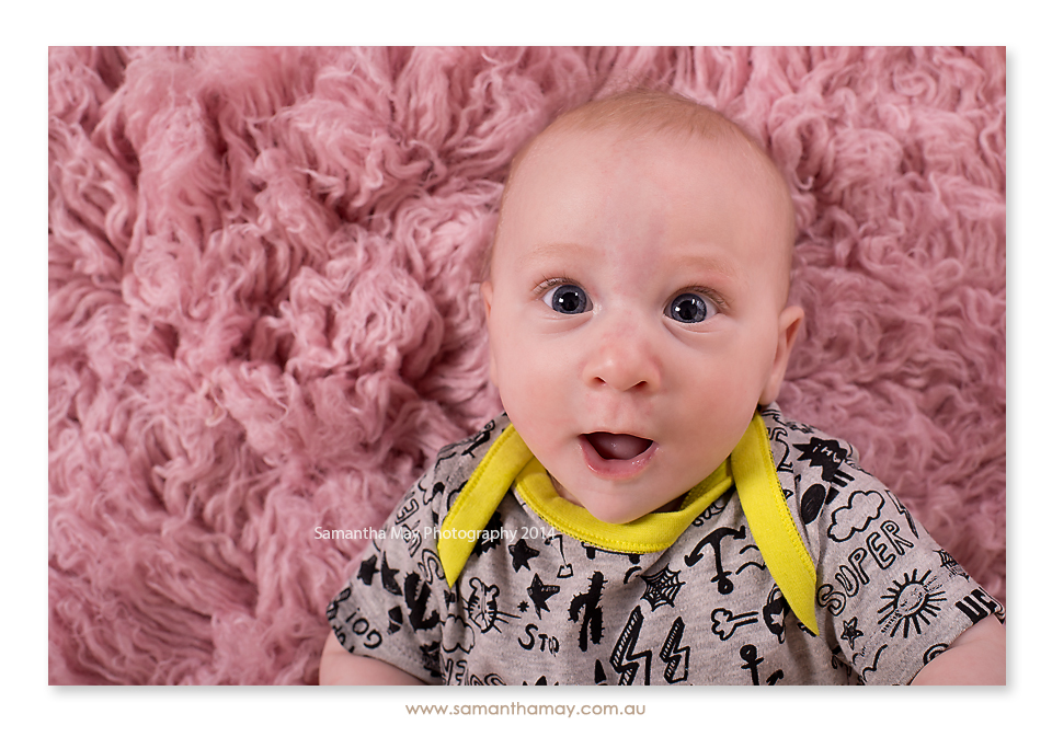 perth baby photographer 4 month old girl