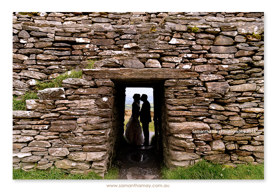 Grianan of Aileach wedding