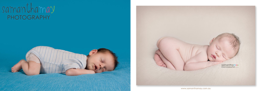 then and now, perth newborn photographer