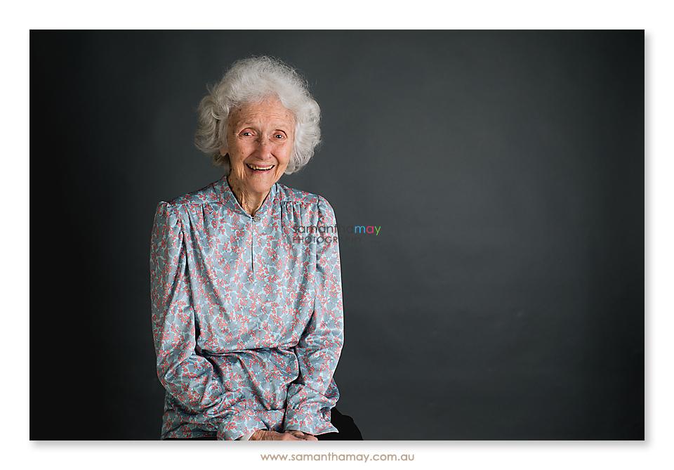 Alzheimer's Disease & Dementia cheeky portrait of granny