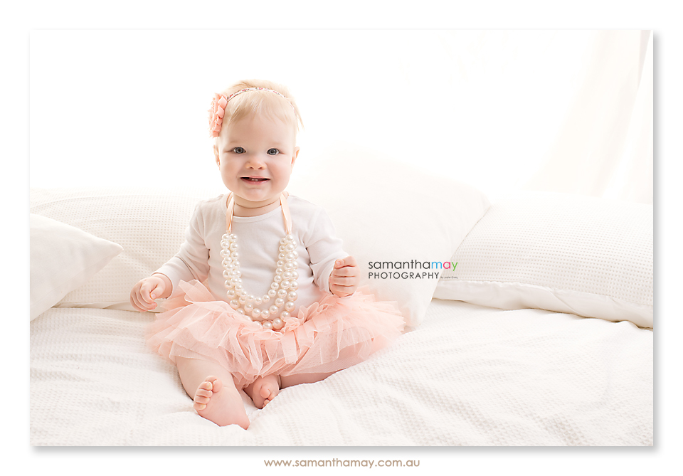 baby girl backlit