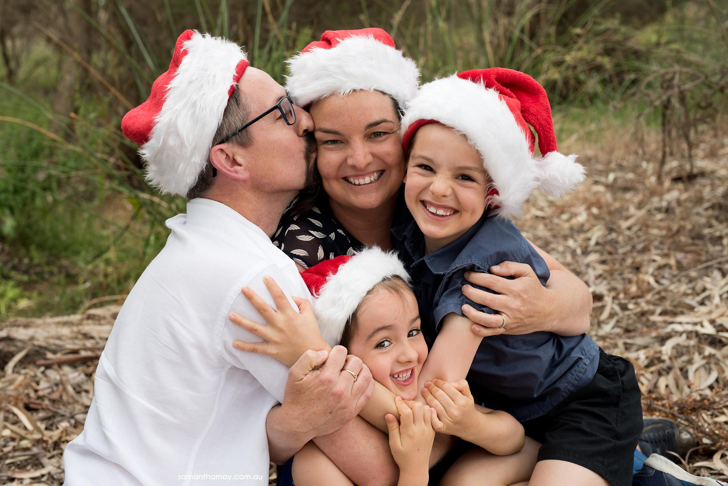 family big squeezey hug