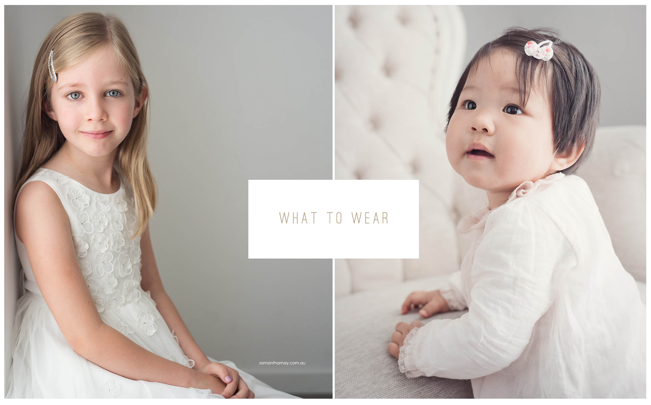 what to wear to a portrait sitting